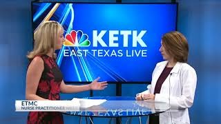 ETMC in the news - The growing role of nurse practitioners