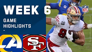 Rams vs. 49ers Week 6 Highlights | NFL 2020