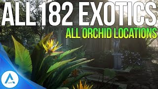 All 182 Exotic Item locations: All Orchids, Eggs & Birds - Red Dead Redemption 2