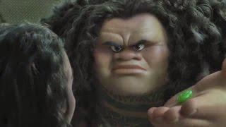 Moana - Angry Maui Yells at Moana Scene