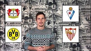 Экспресс Байер - Боруссия Д | Эйбар - Севилья | Прогнозы на футбол