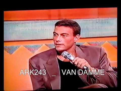 Jean Claude Van Damme _ ( MEGA RARE )  Promote  Double Impact PART 1