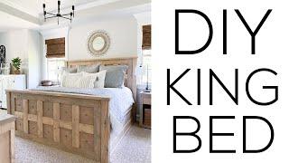 Build a DIY King Bed!