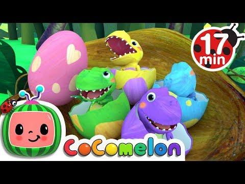 Dinosaur Songs | CoCoMelon Nursery Rhymes & Kids Songs