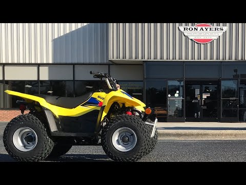 2021 Suzuki QuadSport Z50 in Greenville, North Carolina - Video 1