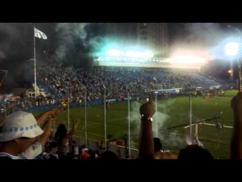 """Paysandu 0-2 Avaí - Banda Alma Celeste após o jogo (18.10.2013)"" Barra: Alma Celeste • Club: Paysandu"