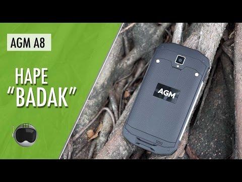 AGM A8 Quick Review Indonesia: Smartphone Badak
