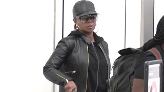 Mary J. Blige Leaving LA After Bad Boy Family Reunion Concert