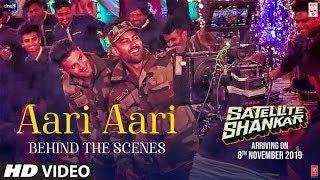 Making Of Aari Aari Satellite Shankar Sooraj Pancholi Megha Tanishk