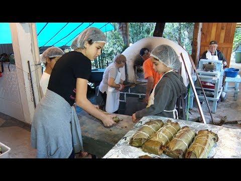 Conheça a família Mozer, de Lumiar, e suas tradicionais broas de milho