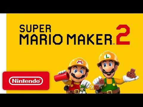Super Mario Maker 2 - Announcement Trailer - Nintendo Switch thumbnail