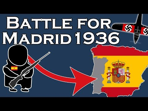 The Battle for Madrid, 1936 (filmed\/animated on location)