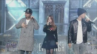 EPIK HIGH - '헤픈엔딩(HAPPEN ENDING) (feat. LEE HI)' 1102 SBS Inkigayo