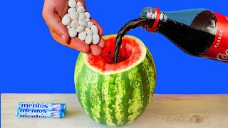 WATERMELON VS COCA COLA VS MENTOS