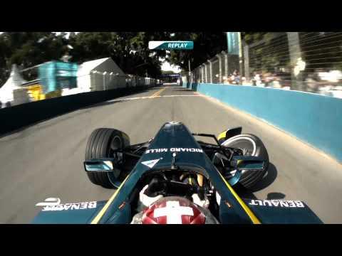 Top 5 Formula E Crashes - Season 1