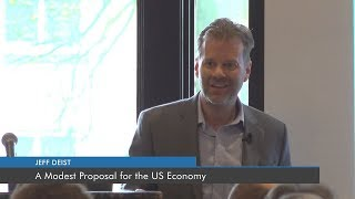 A Modest Proposal for the US Economy | Jeff Deist