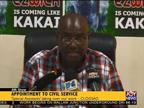 Appointment to Civil Service - AM News on JoyNews (1-5-18)