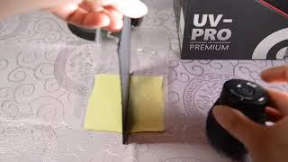 Experiment 實驗 Part 1: B+W filter UV-PRO Sterilizing Unit 相機及鏡頭專業紫外光防霉器