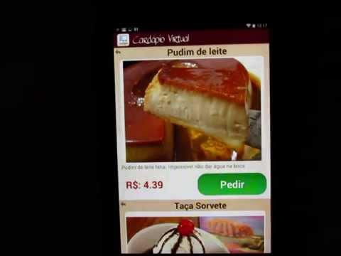 Video of Virtual Menu