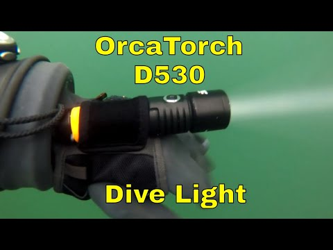 OrcaTorch D530 dive light review
