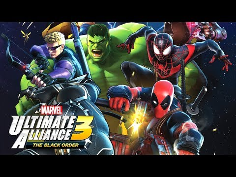 MARVEL ULTIMATE ALLIANCE 3 - New Characters & Abilities Gameplay & Screenshots! - Nintendo Switch