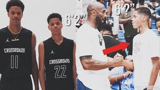 Shaqir O'Neal INSANE! Growth As A 15 Year OLD | Soon Going To Be Taller Then Kobe?