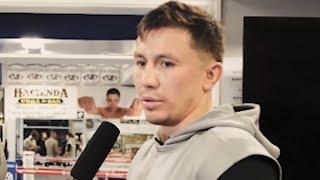 Геннадий Головкин: «Канело» не является большим чемпионом