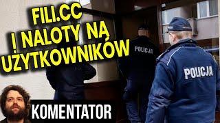 Fili.cc Zamknięte – Policja Ma Bazę Użytkowników – Będą Naloty? Analiza Komentator Filmy Seriale PL