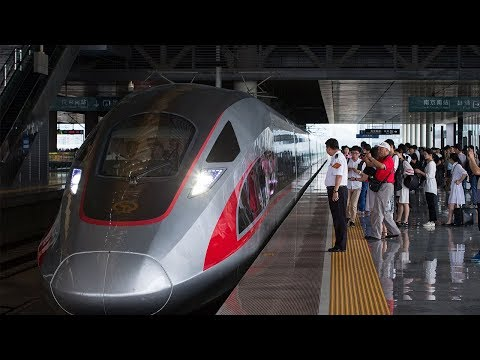 CRRC worker talks about high-speed railway development in China