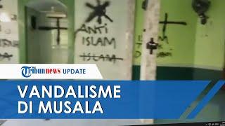 Viral Video Aksi Vandalisme Menyasar Musala di Kabupaten Tangerang, Banyak Coretan Bernada Provokasi