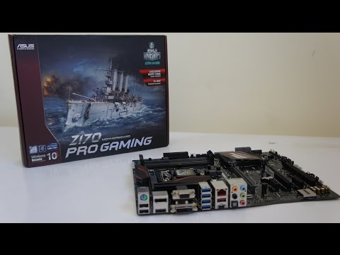 ASUS Z170 PRO GAMING review, test, build, overclock