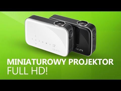 Miniaturowy Projektor Full HD - Recenzja Vivitek Qumi Q8