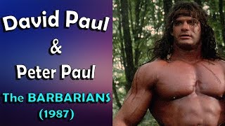 Barbarian Brothers and their powerful muscles (HD)
