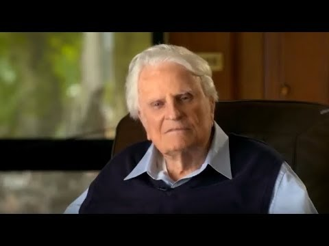 'A CRUZ' Última mensagem de Billy Graham para TV Americana.
