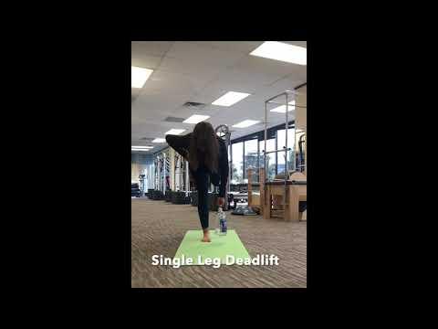 Single Leg Deadlift