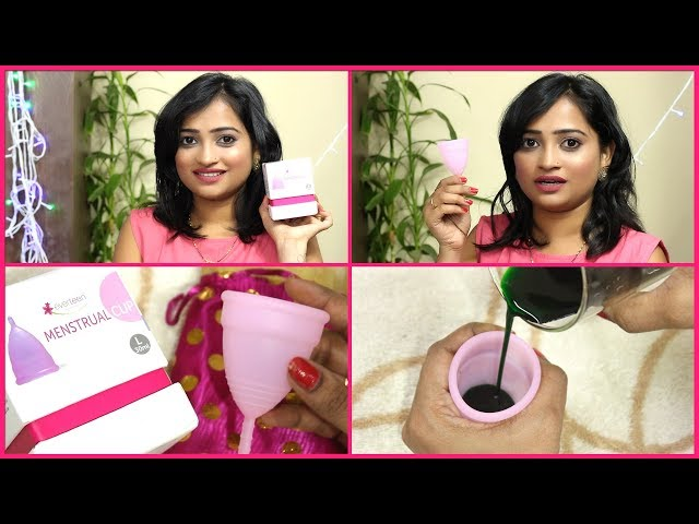How to use Menstrual Cup (  Explained in Hindi)