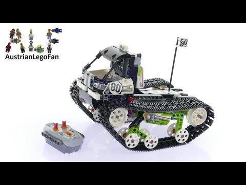 Vidéo LEGO Technic 42065 : Le bolide sur chenilles télécommandé