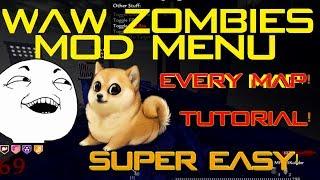 Cod Zombies MOD MENU EVERY MAP! [EASIEST TUTORIAL] [PC]