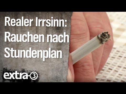 Es hat das Erbrechen Rauchen aufgegeben