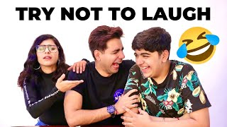 TRY TO NOT LAUGH CHALLENGE | Rimorav Vlogs