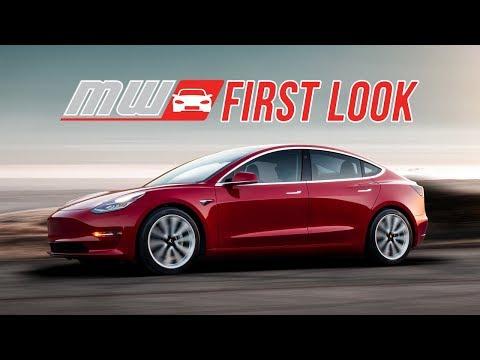2018 Tesla Model 3 | First Drive