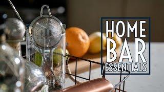 Home Bar Essentials || Gents Lounge 2019