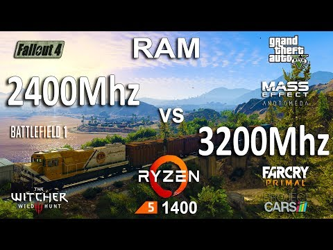 HOW MUCH FPS WOULD I GAIN USING 3200MHZ RATHER THAN 2400MHZ