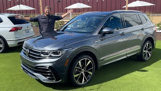 2022 VW Tiguan FULL Review - Driving, Trims, Features, And Impressions!