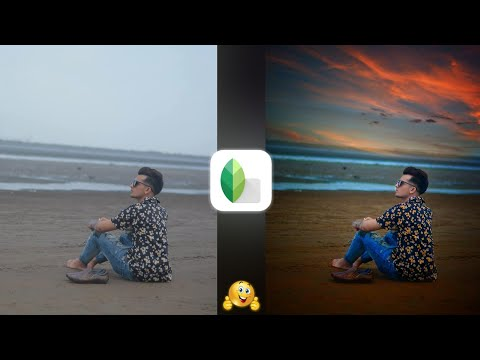 Download Snapseed Sky Background Change Manipulation Editing Snapse