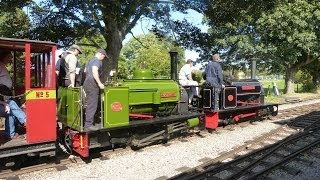 preview picture of video 'Leighton Buzzard Railway - 'GREAT SLATE QUARRY FEST' 15/09/2012'