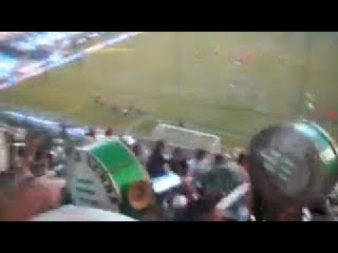 """La hinchada de Banfield frente a Racing (Clausura 2017) // PARTE 2"" Barra: La Banda del Sur • Club: Banfield"