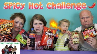 SPICY HOT CHALLENGE / That YouTub3 Family