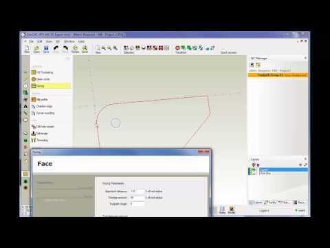 OneCNC CAD CAM Software Training 8 - YouTube