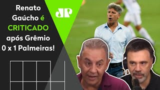 Renato Gaúcho é criticado após derrota para o Palmeiras